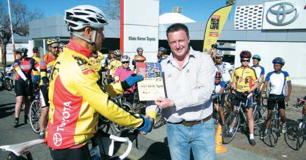 Pedal Power Association (PPA) Toyota Ride for your Life South Africa